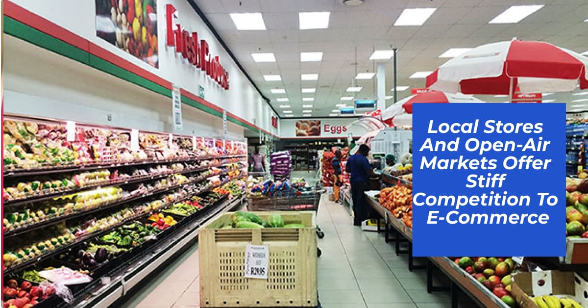 E-Commerce in Kenya competition from local stores